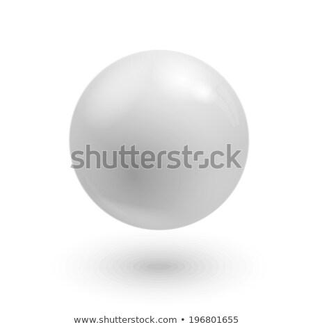 üveg · labda · vektor · szövegbuborék · illusztráció · absztrakt - stock fotó © smeagorl