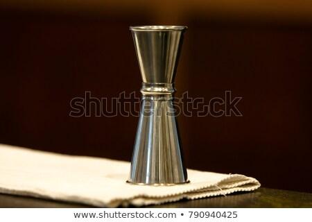 Measuring cup for cocktail Stock photo © karandaev