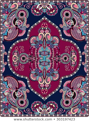 Arabic Style Carpet Design Stock photo © Kaludov