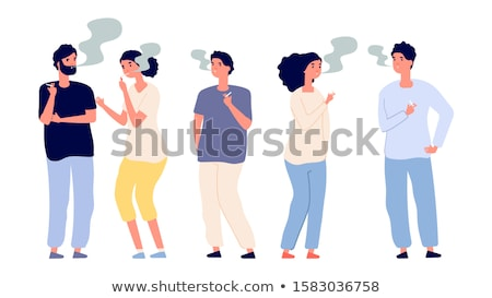 Woman holding a cigarette Stock photo © photography33