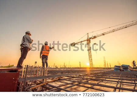 woman contractor on a construction site stock photo © photography33