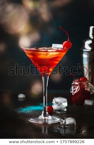 Martini cocktail notte discoteca party vetro Foto d'archivio © Zebra-Finch