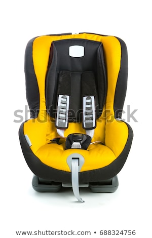 a childs car seat isolated on a white background stock photo © ozaiachin