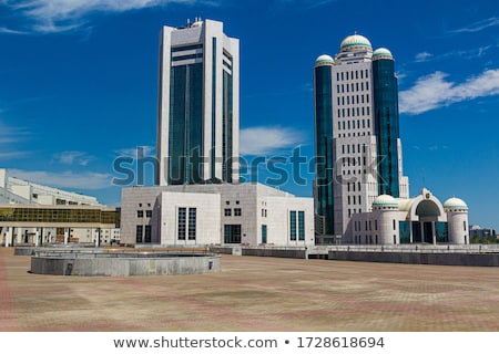 government buildings in astana stock photo © belyaevskiy