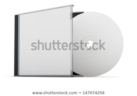 Abrir disco caso cd isolado Foto stock © winterling