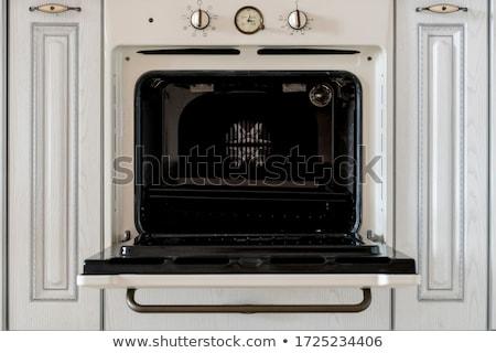 nyitva · szellőzés · sütő · forró · levegő · konyha - stock fotó © jonnysek