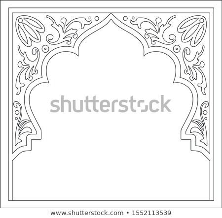 Indian Doorway Stock photo © THP