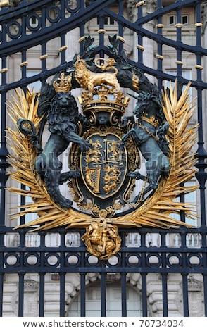 Buckingham · Palace · Londen · water · gebouw · zomer · reizen - stockfoto © bertl123