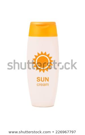 загар лосьон солнце Starfish песок синий Сток-фото © MKucova