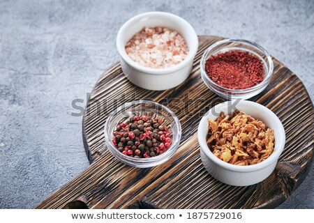 Natural pink coarse salt Stock photo © pzaxe