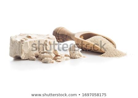 Maya beyaz çanak gıda küp fırın Stok fotoğraf © MKucova