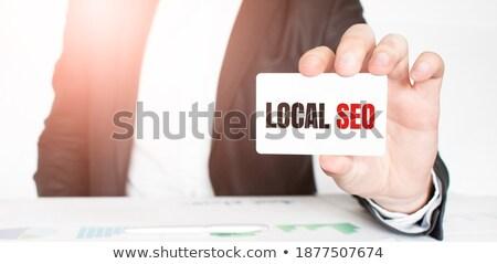 mlm · Rood · tekst · geïsoleerd · witte · marketing - stockfoto © tashatuvango