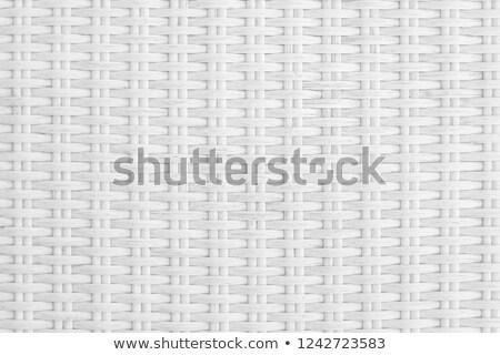 Plastic rattan weaving Stock photo © stoonn