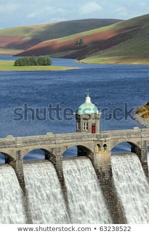 Rezervuar vadi galler su mavi Stok fotoğraf © latent