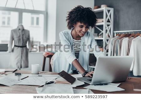 Business mode dame stijlvol kleding Stockfoto © Novic