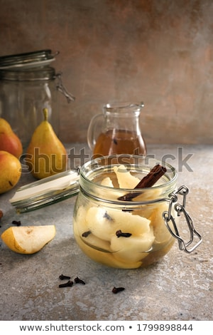 pear compote Stock photo © M-studio