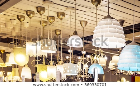 A group of lamp hang on ceiling    Stock photo © nalinratphi