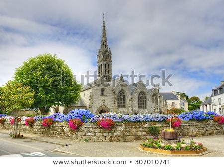 breton vilage Stock photo © prill