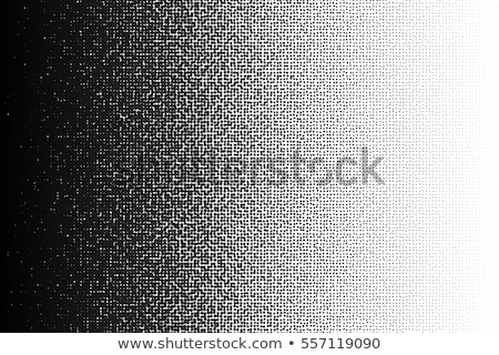 halftone dotted gradient  background black white Stock photo © Melvin07