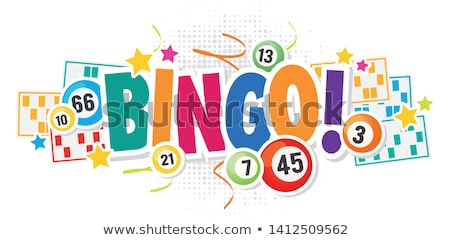 Bingo ilustração dinheiro menina diversão cassino Foto stock © adrenalina