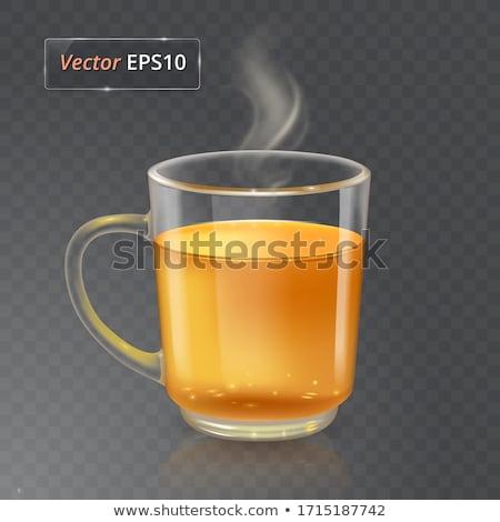 空っぽ · ガラス · ウイスキー · 孤立した · 白 · パーティ - ストックフォト © givaga