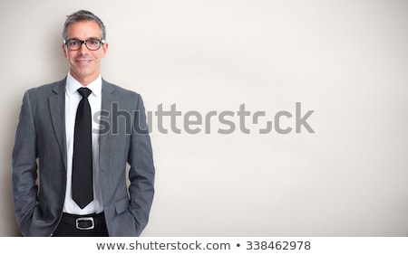 Portrait of a representative smiling business man Stock photo © deandrobot