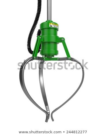 Automatico verde chiuso bianco sfondo Foto d'archivio © tashatuvango