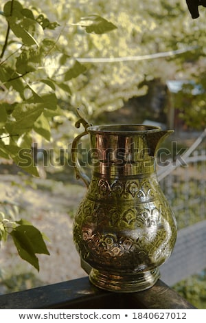 Antigua jarra crudo arcilla retro vintage Foto stock © wime