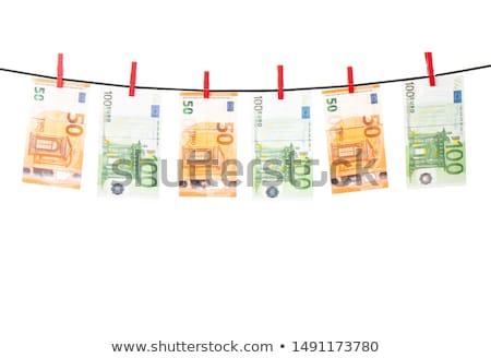 деньги · крюк · белый · 20 · евро · банкнота - Сток-фото © pressmaster