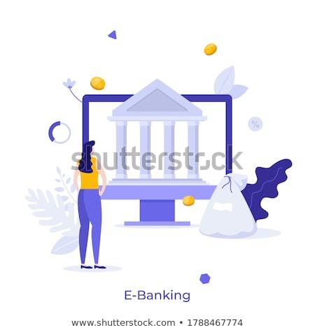 Composite image of online banking Stock photo © wavebreak_media