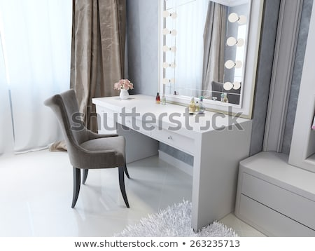 Modern dresser with mirror Stock photo © stockyimages