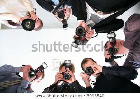 paparazzi under victim Stock photo © Paha_L