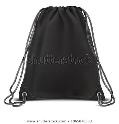 Sport táska út divat felirat zöld Stock fotó © shutswis
