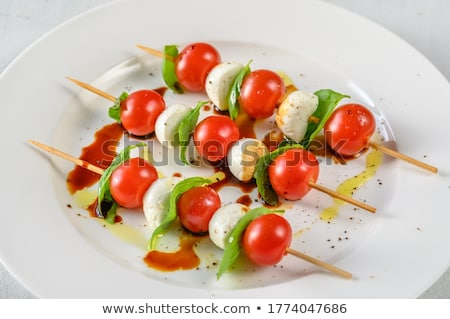 Bocconcini and tomatoes Stock photo © Digifoodstock