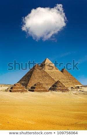 small egypt pyramid in Giza stock photo © Mikko