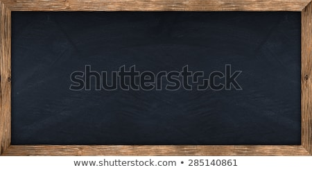 空っぽ 古い 広い 木材 フレーム 孤立した ストックフォト © plasticrobot