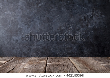 Imparare tavolo in legno parola ufficio mano bambino Foto d'archivio © fuzzbones0