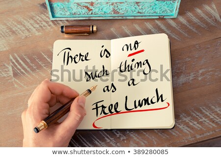 No Free Lunch Stock photo © Lightsource
