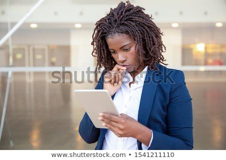 portret · jonge · kantoormedewerker · kantoor · business - stockfoto © elnur