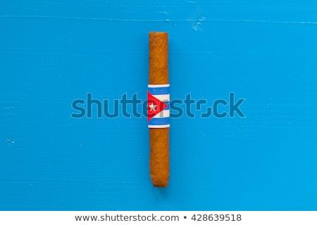 高級 キューバの シガー 白 デスク テクスチャ ストックフォト © CaptureLight