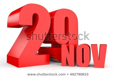 29th November Stock photo © Oakozhan