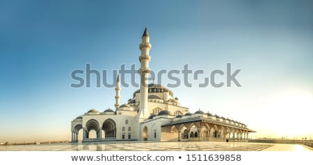 Stock photo: Mosque at sunset