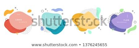 soyut · renkli · arka · plan · poster · modern · vektör - stok fotoğraf © SArts