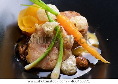 cordeiro · legumes · cidade · asiático · chinês · cozinhar - foto stock © pedrosala