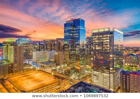 Centro da cidade phoenix Arizona EUA vale sol Foto stock © Dreamframer