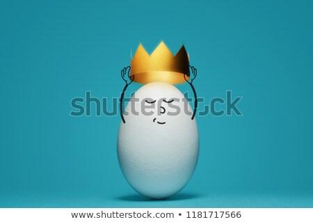 Diferencias funny huevo juego ninos encontrar Foto stock © Olena