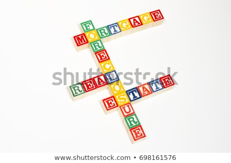 Stock photo: Mortgage Crisis Crossword Puzzle