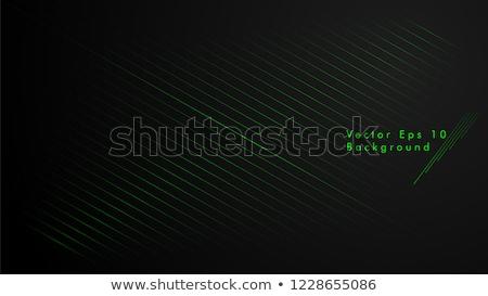 fekete · zöld · absztrakt · átló · vonalak · textúra - stock fotó © kurkalukas