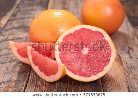 Grapefruit fa étel háttér piros desszert Stock fotó © M-studio