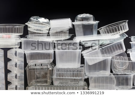 Stack of Empty Takeaway Food Containers Stock photo © dezign56